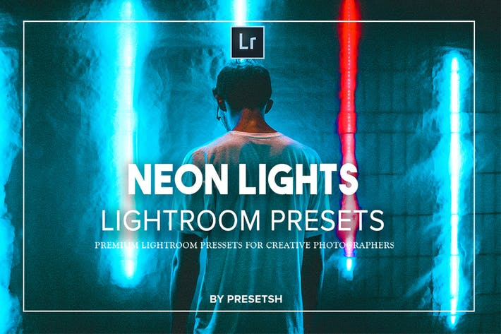 Thumbnail for Neon Nights Lightroom Presets Collection