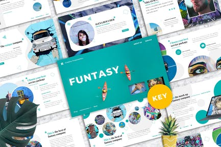 Funtasy – Creative Business Keynote Template