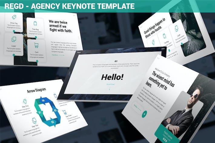 Thumbnail for Regd - Agency Keynote Template