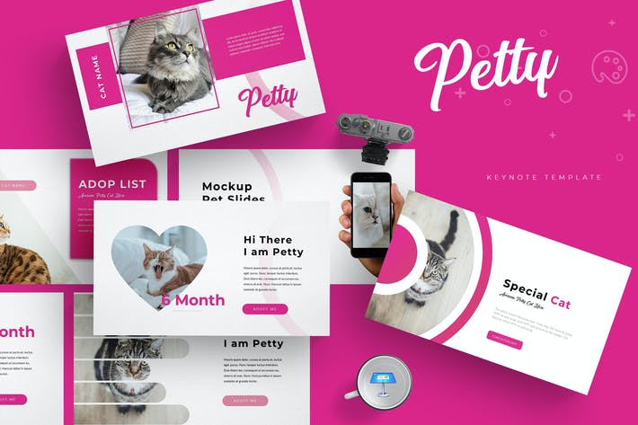 Thumbnail for Petty - Keynote Template