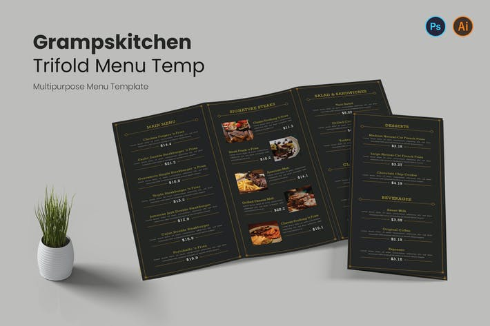 Grampskitchen Restaurant Menu
