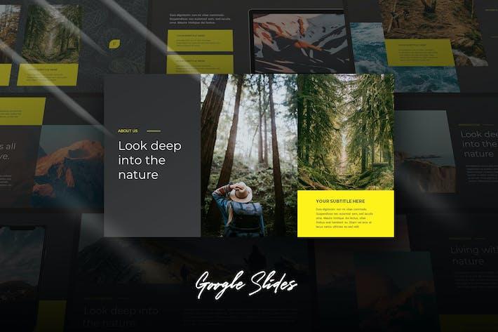 Thumbnail for Fora - Cinematic Theme Google Slides