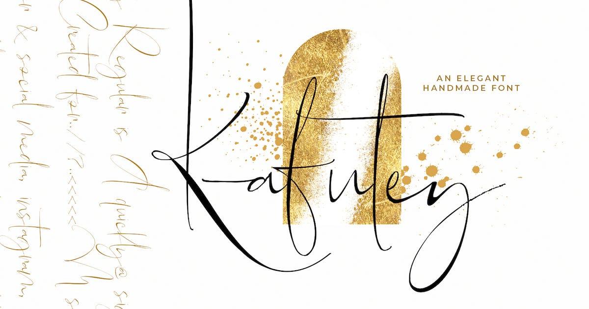 Download Kafutey - Elegant Handmade Fonts! by Siwox