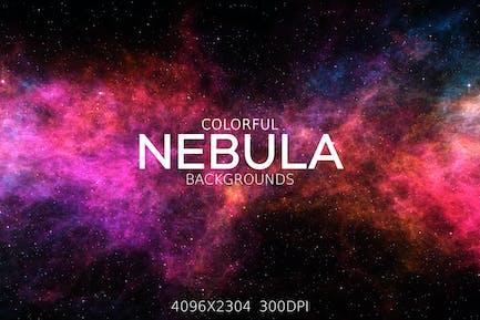 Colorful Nebula Backgrounds