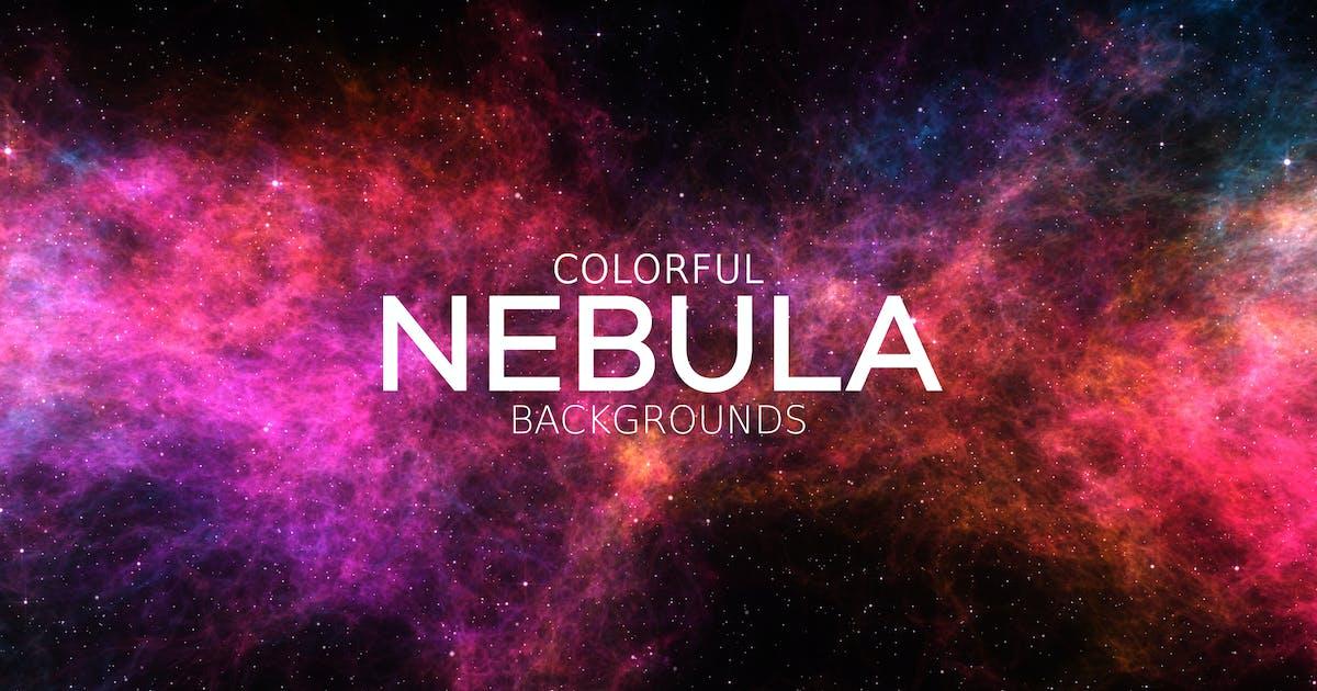 Download Colorful Nebula Backgrounds by VProxy
