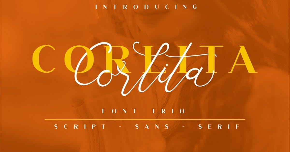 Download Corlita - Font Trio by Ahnaf-Studio