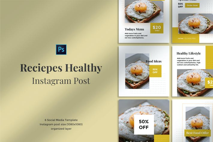 Thumbnail for Reciepes Healthy Instagram post 02