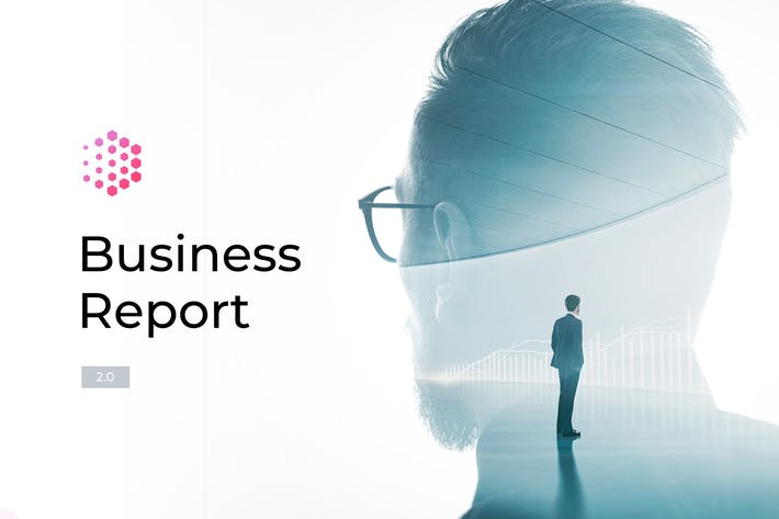 Thumbnail for Business Report 2.0 for Keynote