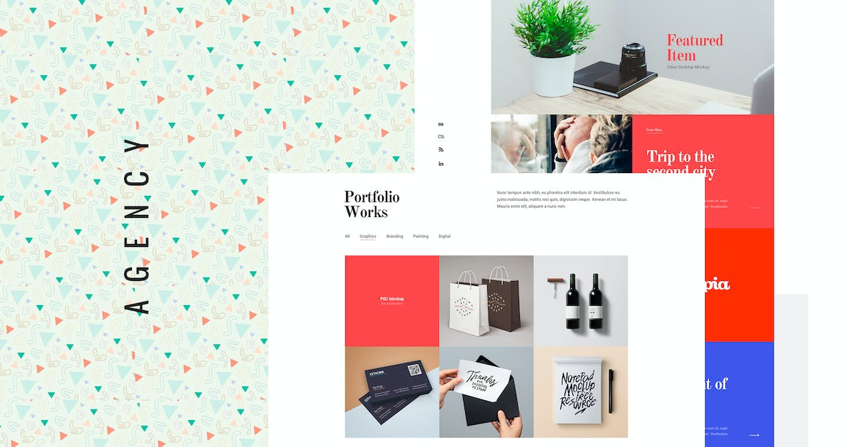 Download Agency - Creative PSD Template by EnergyThemes