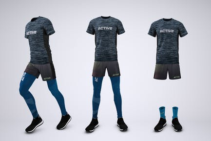 Running Outfit Mock-Up
