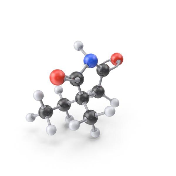 Молекула этосуксимида