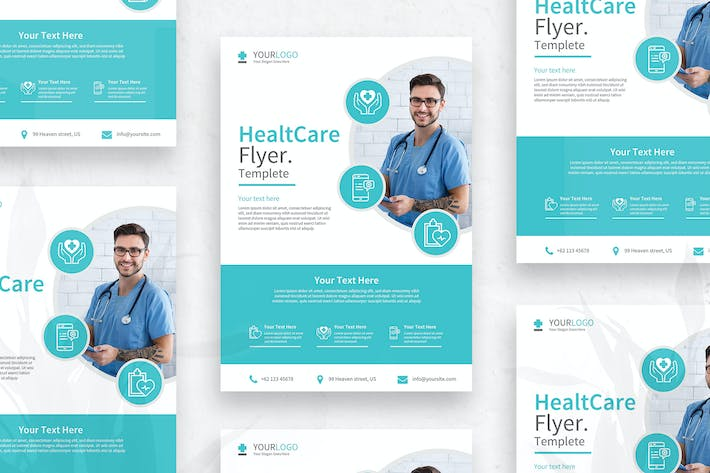 Cover Image For Health - Flyer vol.01