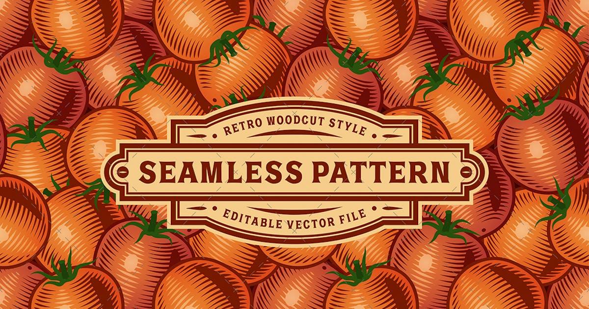 Download Seamless Tomato Pattern by iatsun