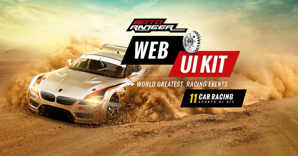 Download Moto Rangers web UI kit by 0effortthemes