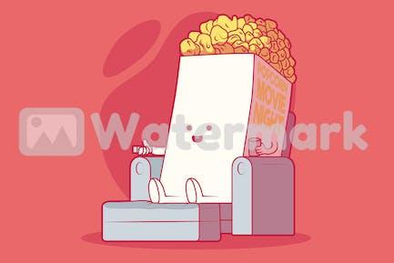 Popcorn Film anschauen