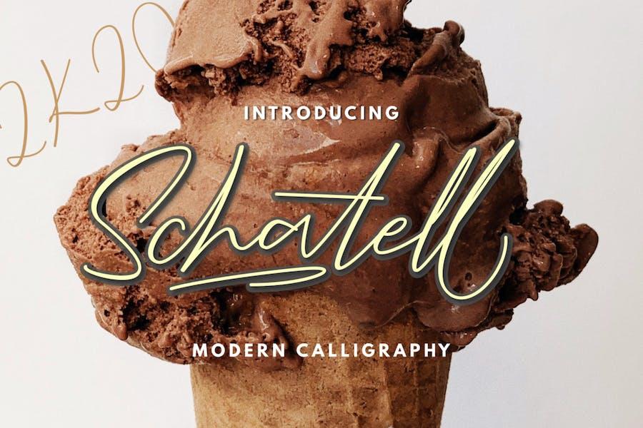 Schatell - Modern Calligraphy