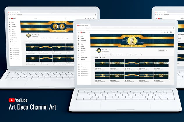 Art Deco Youtube Channel TV