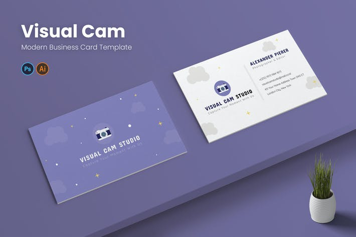 Visual Cam Business Card