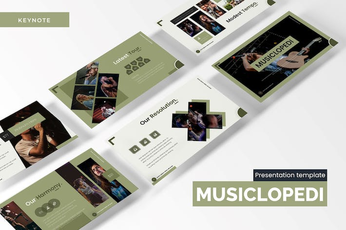 Thumbnail for Musiclopedi - Keynote Template