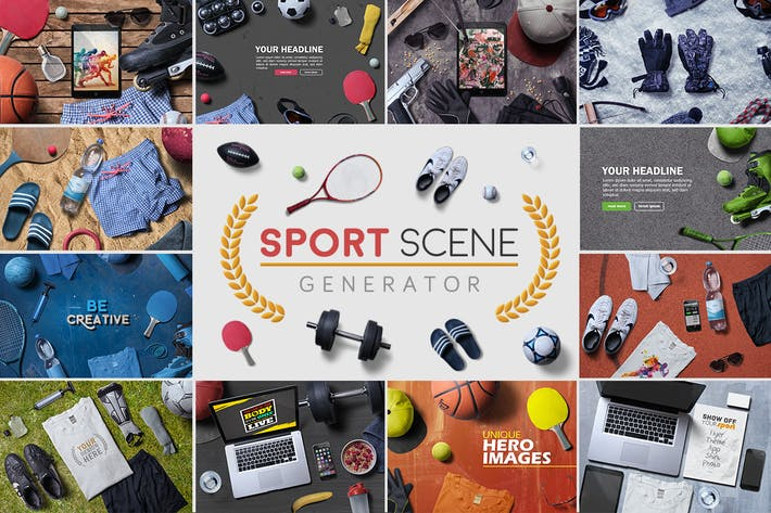 Thumbnail for Sport Scene Generator