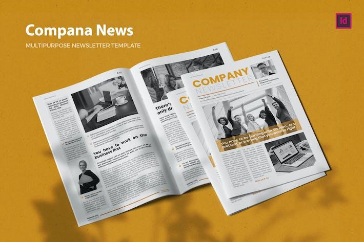 CompanaNews - Newsletter Template