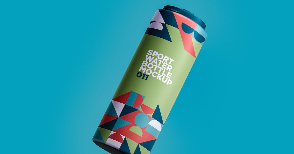 Download Sport Water Bottle Mockup 011 by traint