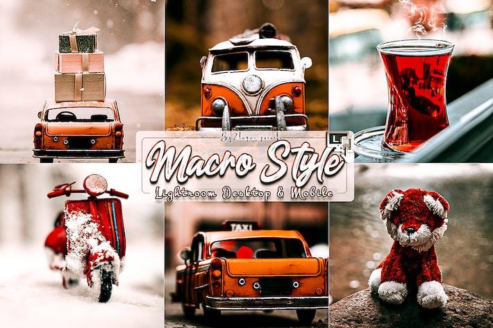 Thumbnail for Macro Styles Lightroom Presets