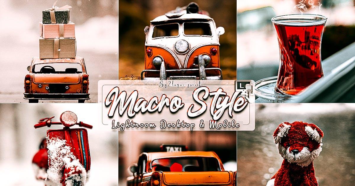 Download Macro Styles Lightroom Presets by 2lagus