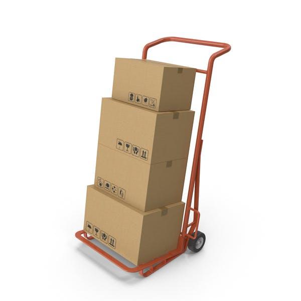 Thumbnail for Handwagen mit Boxen