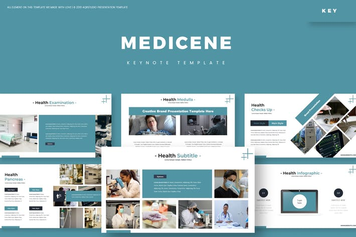 Thumbnail for Medicine - Keynote Template