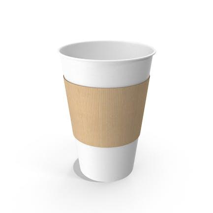 Papier-Kaffeetasse ohne Kappe