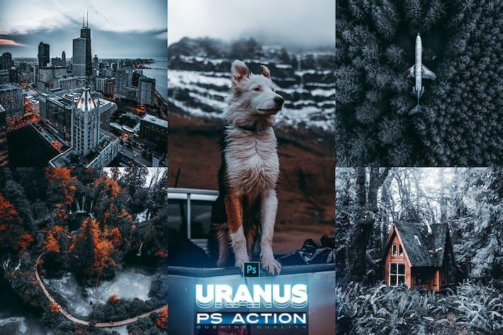Thumbnail for Uranus Photoshop Действие