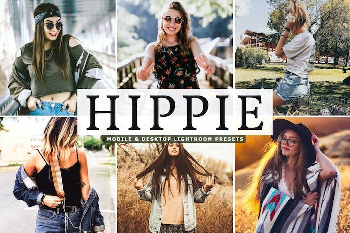 Thumbnail for Hippie - Ajustes preestablecidos de Lightroom para móviles y de escritorio