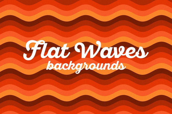 Thumbnail for Retro Colorful Waves Backgrounds