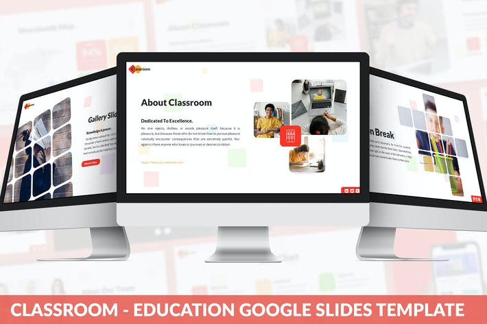 Thumbnail for Classroom - Education Google Slides Template