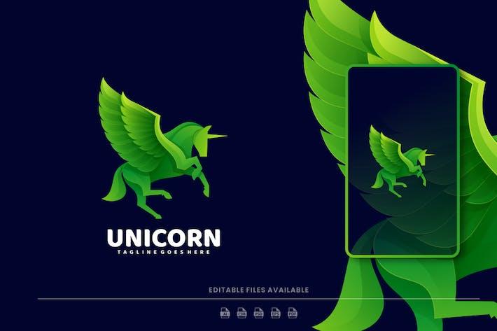 Unicorn Gradient Logo