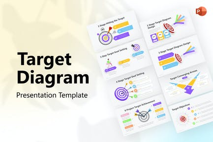 Target Diagram PowerPoint Template