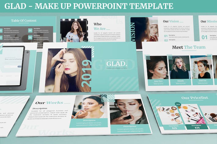 Thumbnail for Рад - Шаблон Powerpoint MakeUp