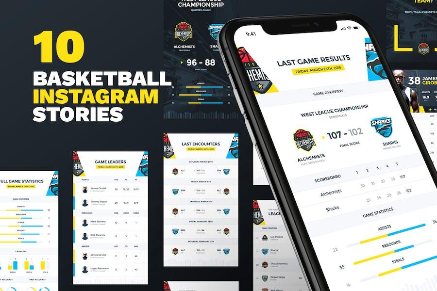 10 Basketball Instagram Stories
