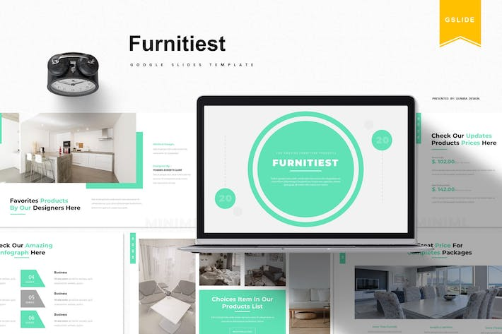 Thumbnail for Furnitiest | Google Slides Template