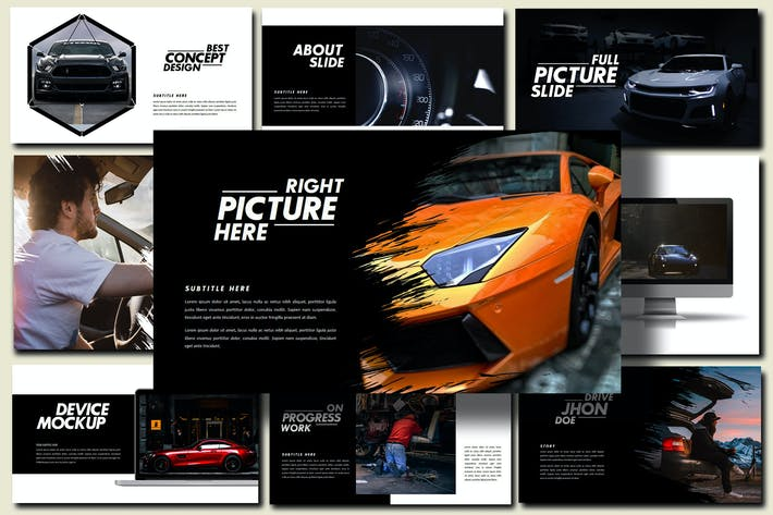 Thumbnail for Furious - Sport Powerpoint Template