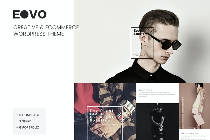 Thumbnail for EOVO - Creative & eCommerce WordPress Theme