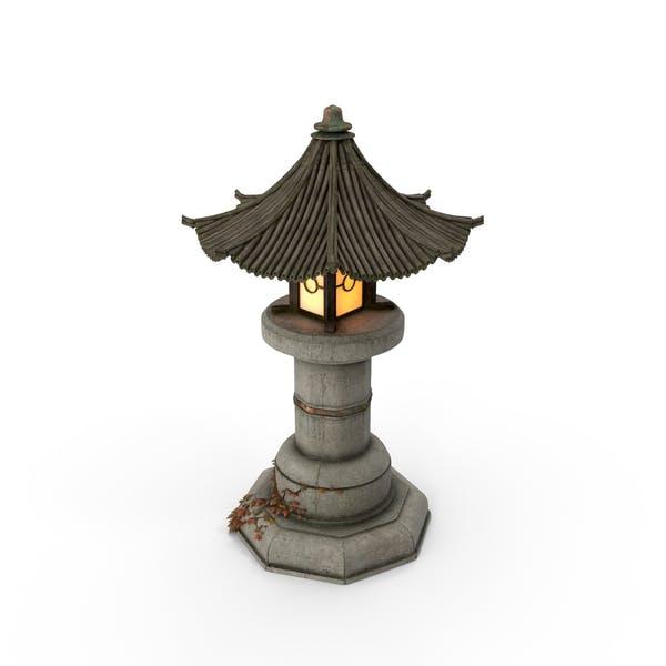 Thumbnail for Asian Garden Lamp