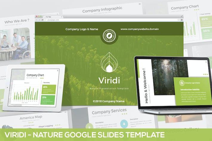 Thumbnail for Viridi - Nature Google Slides Template
