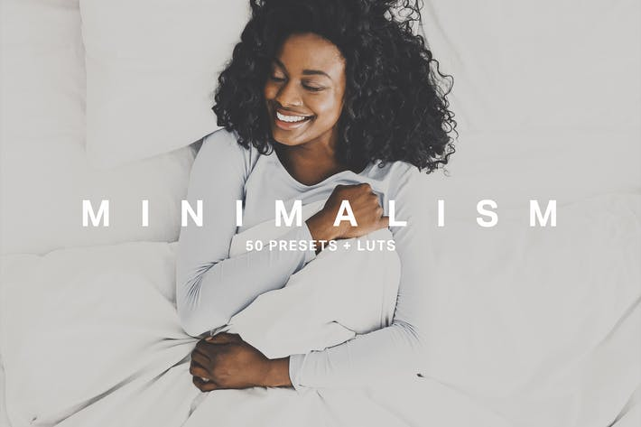 Cover Image For 50 Minimalism Lightroom Presets LUTs