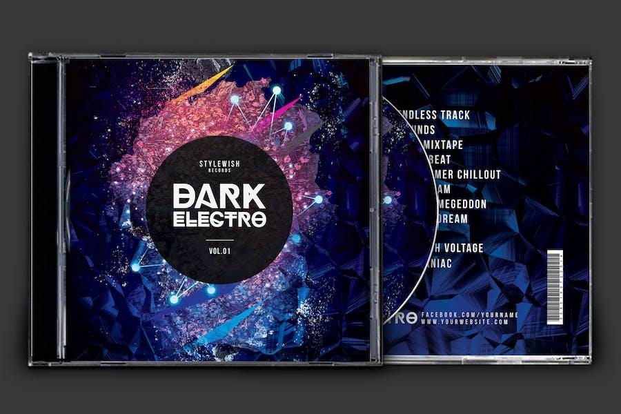 Dark Electro CD Cover Artwork