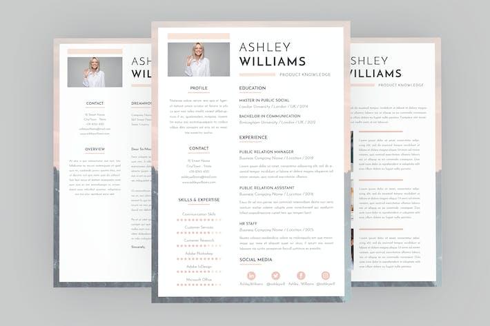 Thumbnail for CV Colloquy Resume Designer