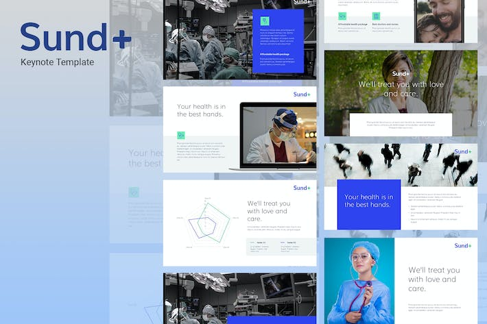 Sund - Medical Theme Keynote Template
