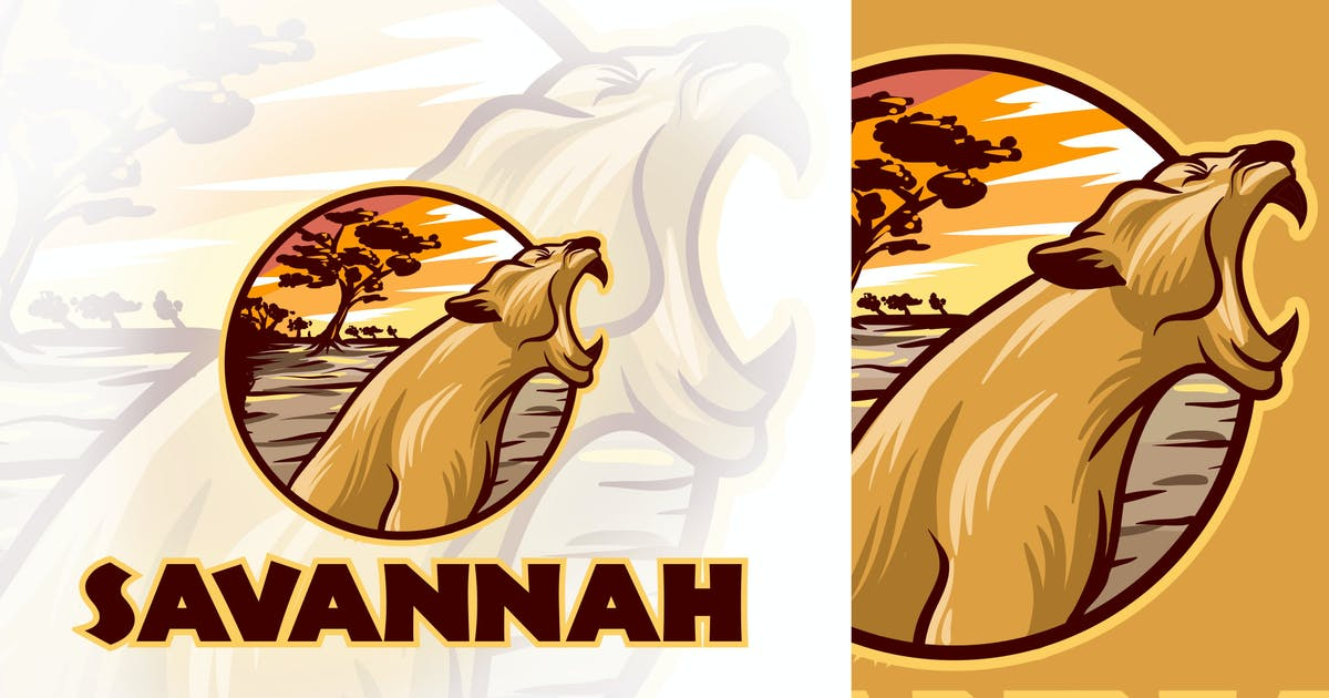 Download African Lioness Logo by Suhandi