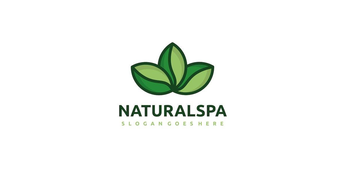 Natural SPA Logo by 3ab2ou